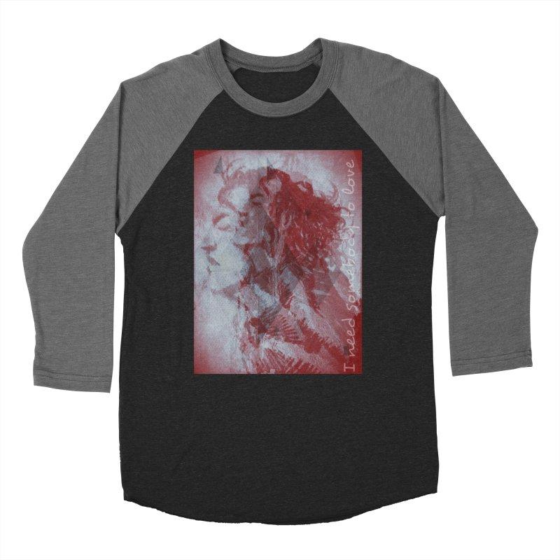 ROCKFACE: With A Little Help from My Friends Women's Baseball Triblend Longsleeve T-Shirt by Armando's Artist Shop