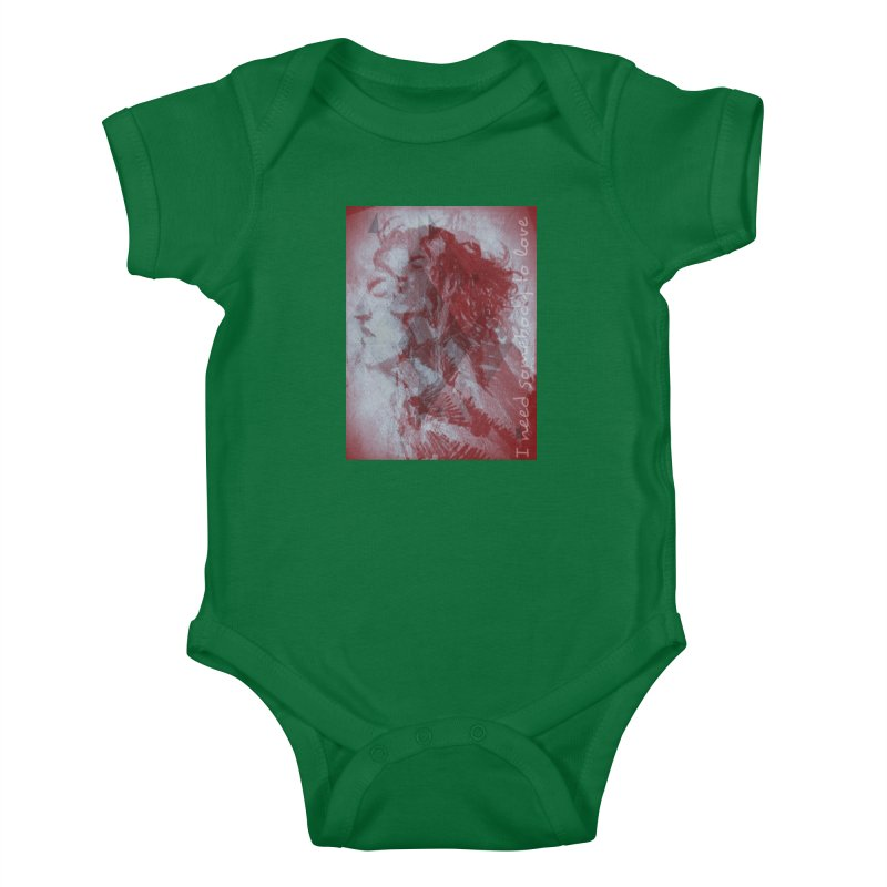 ROCKFACE: With A Little Help from My Friends Kids Baby Bodysuit by Armando's Artist Shop