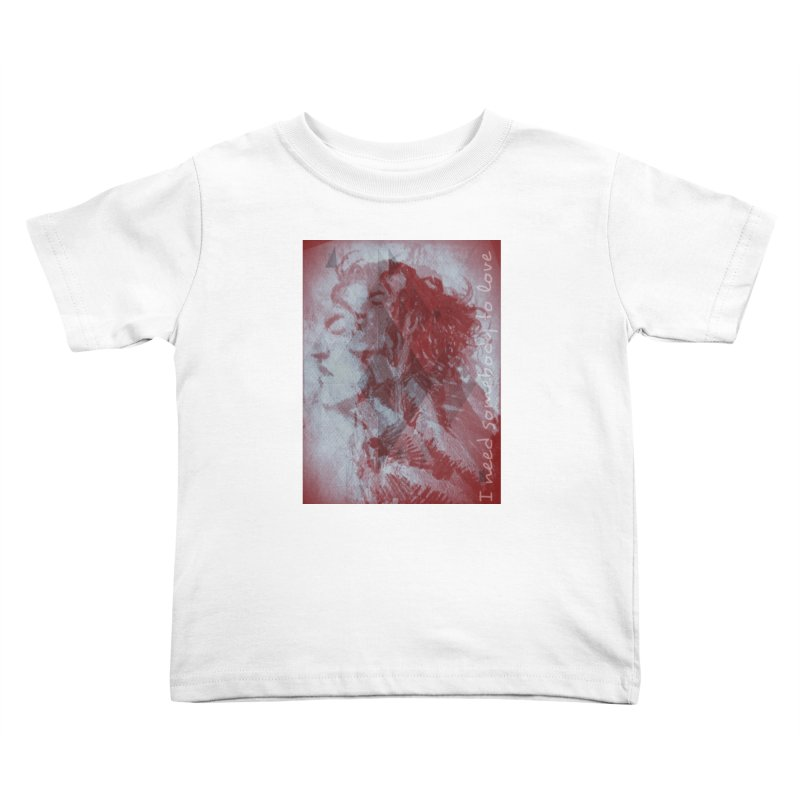 ROCKFACE: With A Little Help from My Friends Kids Toddler T-Shirt by Armando's Artist Shop