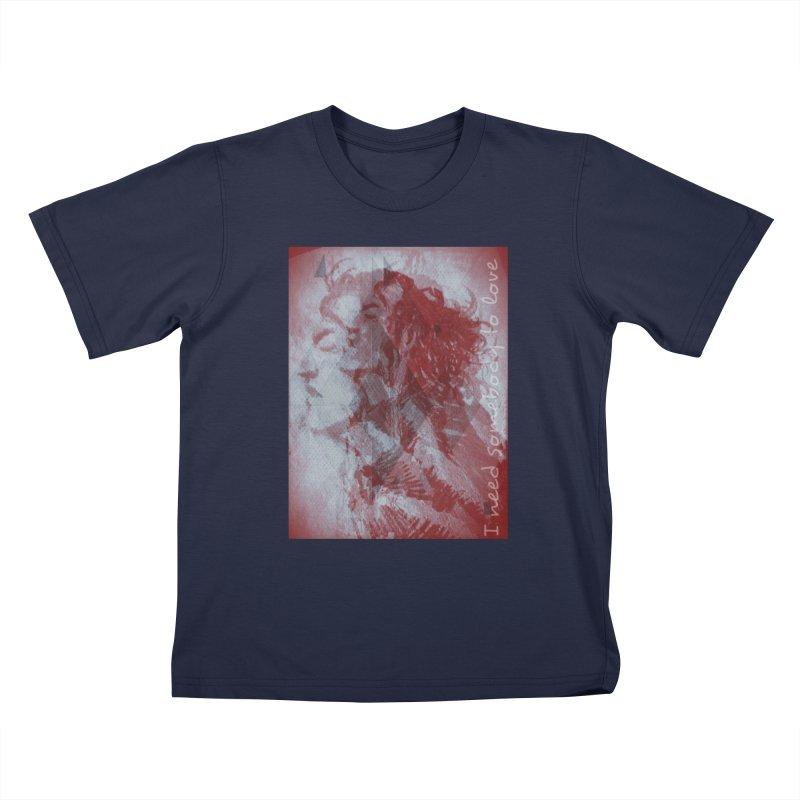 ROCKFACE: With A Little Help from My Friends Kids T-Shirt by Armando's Artist Shop
