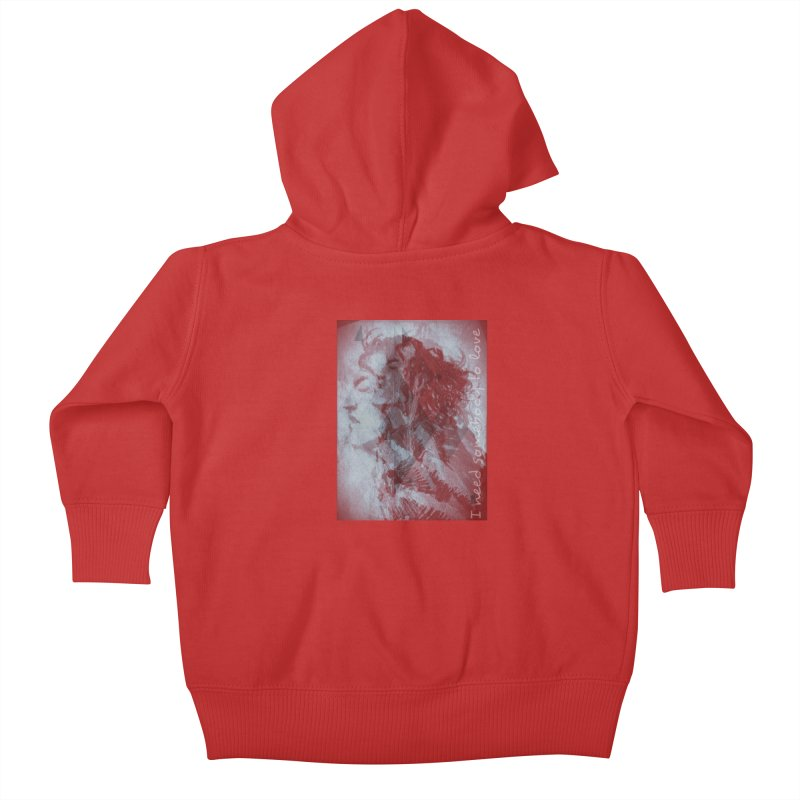 ROCKFACE: With A Little Help from My Friends Kids Baby Zip-Up Hoody by Armando's Artist Shop