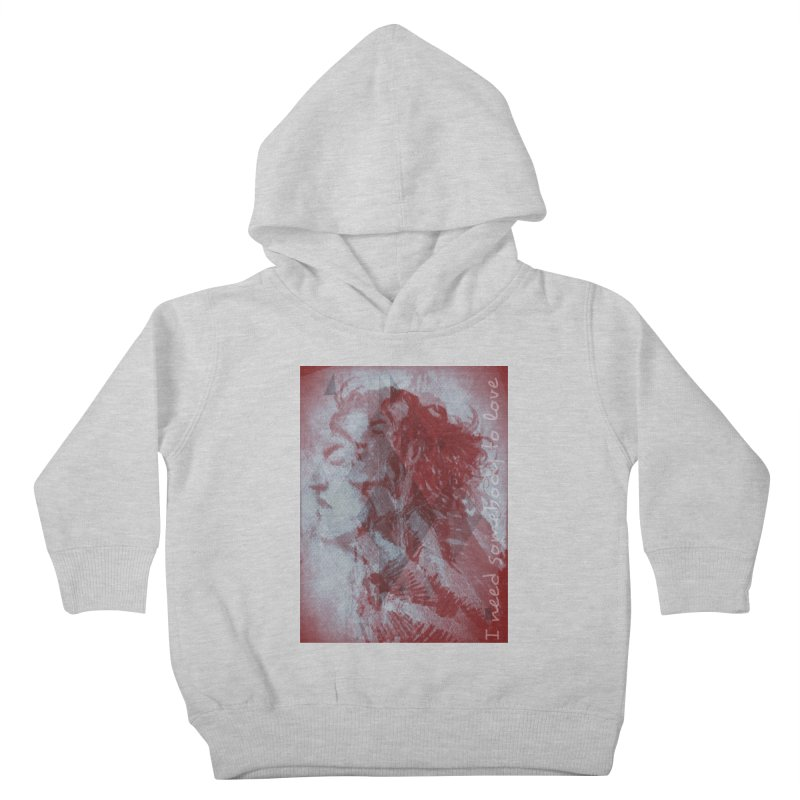 ROCKFACE: With A Little Help from My Friends Kids Toddler Pullover Hoody by Armando's Artist Shop
