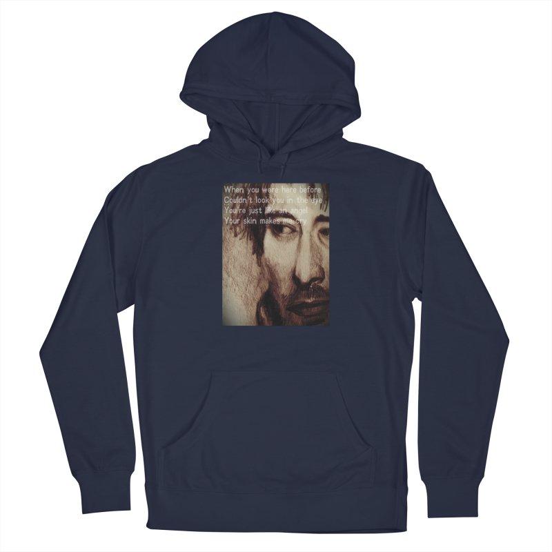 ROCKFACE: Thom Yorke Men's Pullover Hoody by Armando's Artist Shop