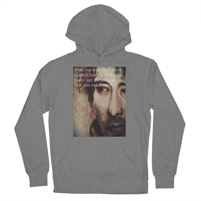 ROCKFACE: Thom Yorke Men's French Terry Pullover Hoody by Armando's Artist Shop