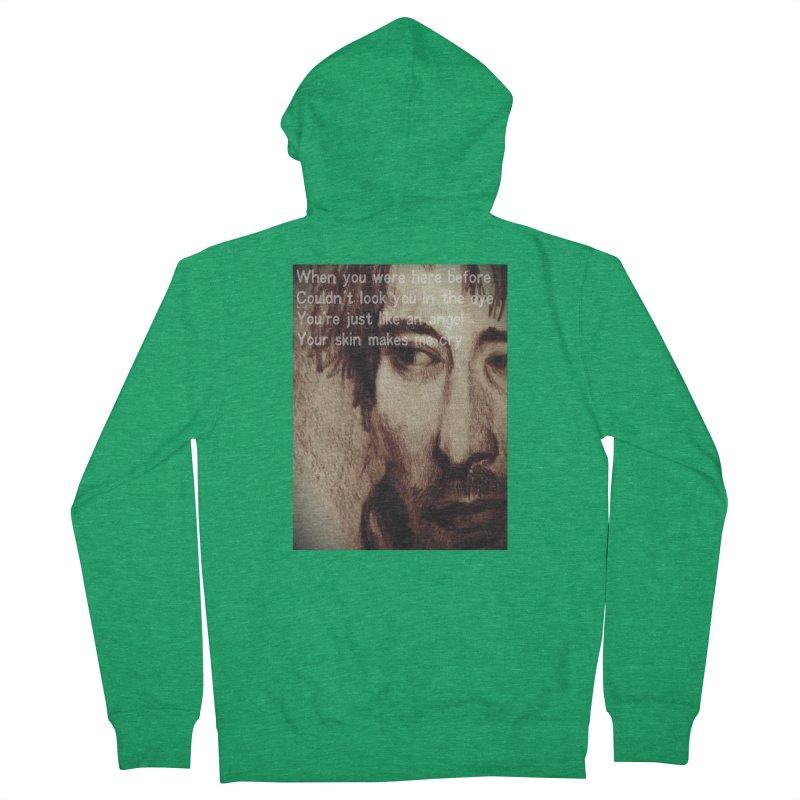 ROCKFACE: Thom Yorke Men's Zip-Up Hoody by Armando's Artist Shop