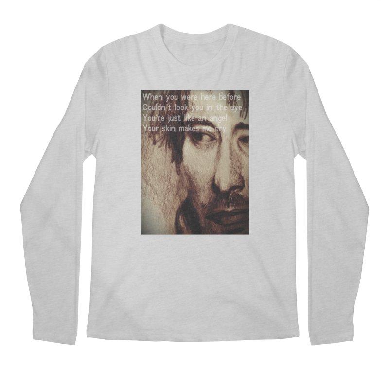 ROCKFACE: Thom Yorke Men's Regular Longsleeve T-Shirt by Armando's Artist Shop
