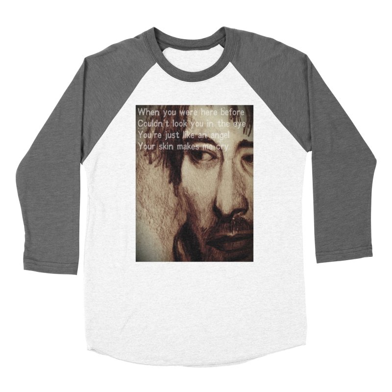 ROCKFACE: Thom Yorke Women's Longsleeve T-Shirt by Armando's Artist Shop