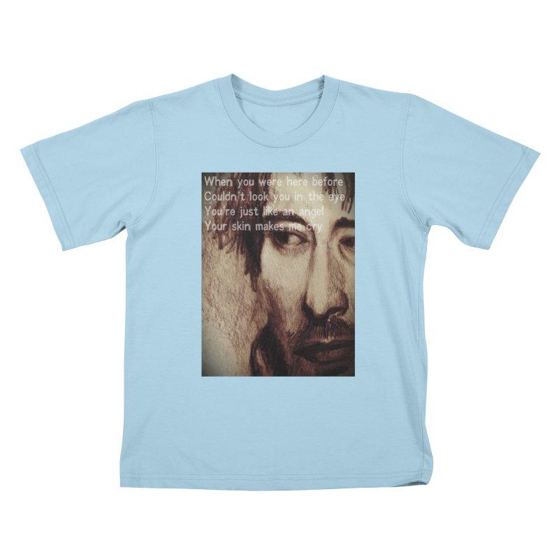 ROCKFACE: Thom Yorke Kids T-Shirt by Armando's Artist Shop
