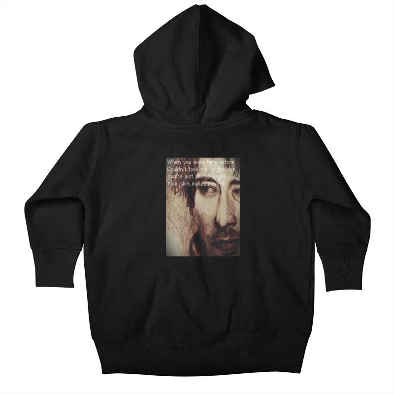 ROCKFACE: Thom Yorke Kids Baby Zip-Up Hoody by Armando's Artist Shop