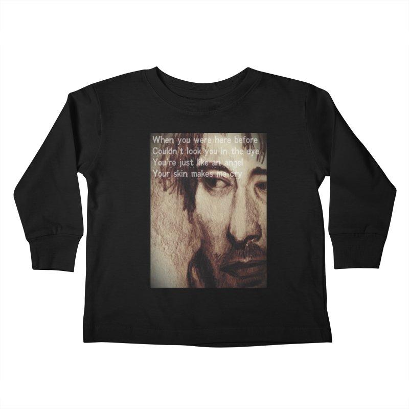 ROCKFACE: Thom Yorke Kids Toddler Longsleeve T-Shirt by Armando's Artist Shop