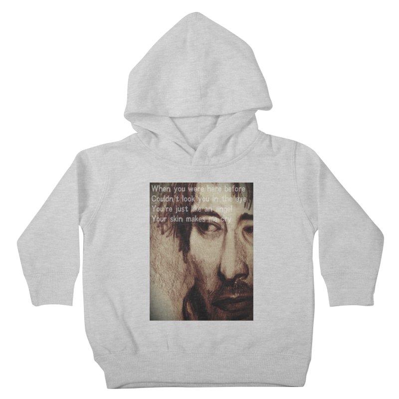 ROCKFACE: Thom Yorke Kids Toddler Pullover Hoody by Armando's Artist Shop