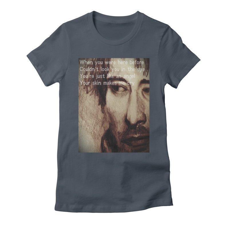 ROCKFACE: Thom Yorke Women's T-Shirt by Armando's Artist Shop