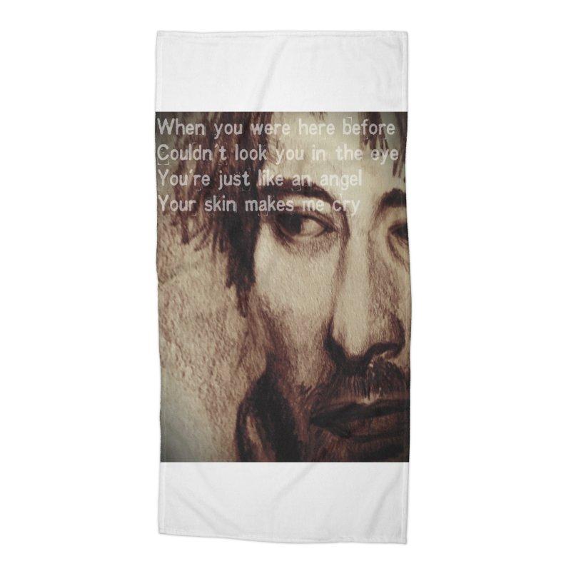 ROCKFACE: Thom Yorke Accessories Beach Towel by Armando's Artist Shop