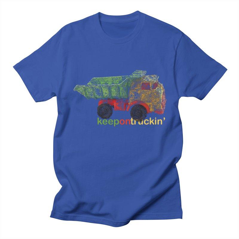 Keep On Trucking Men's Regular T-Shirt by Armando's Artist Shop