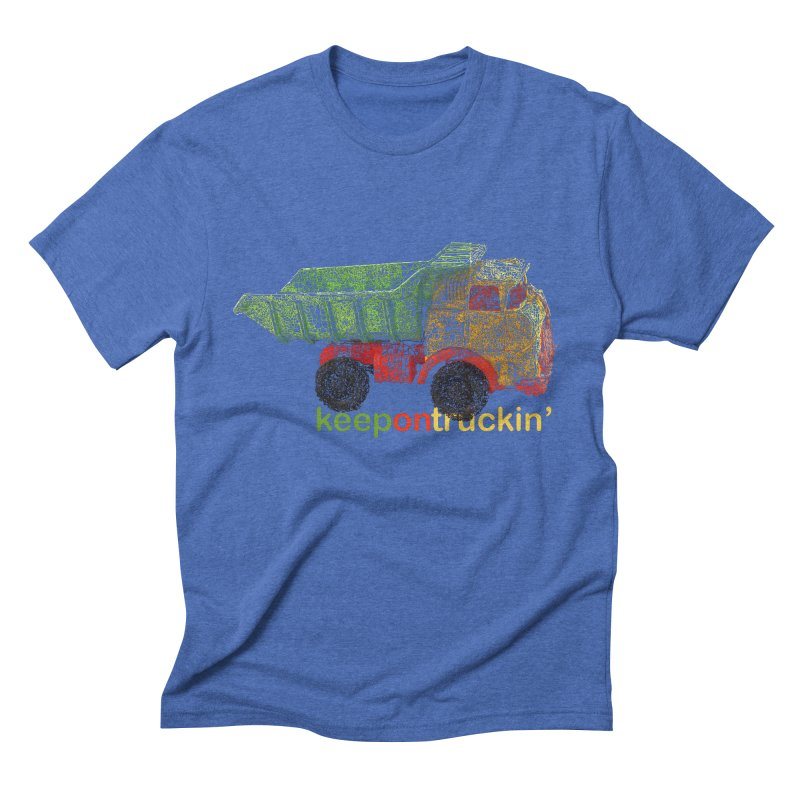 Keep On Trucking Men's T-Shirt by Armando's Artist Shop