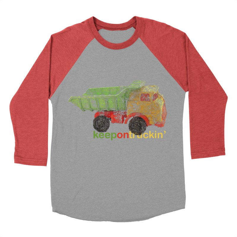 Keep On Trucking Men's Longsleeve T-Shirt by Armando's Artist Shop