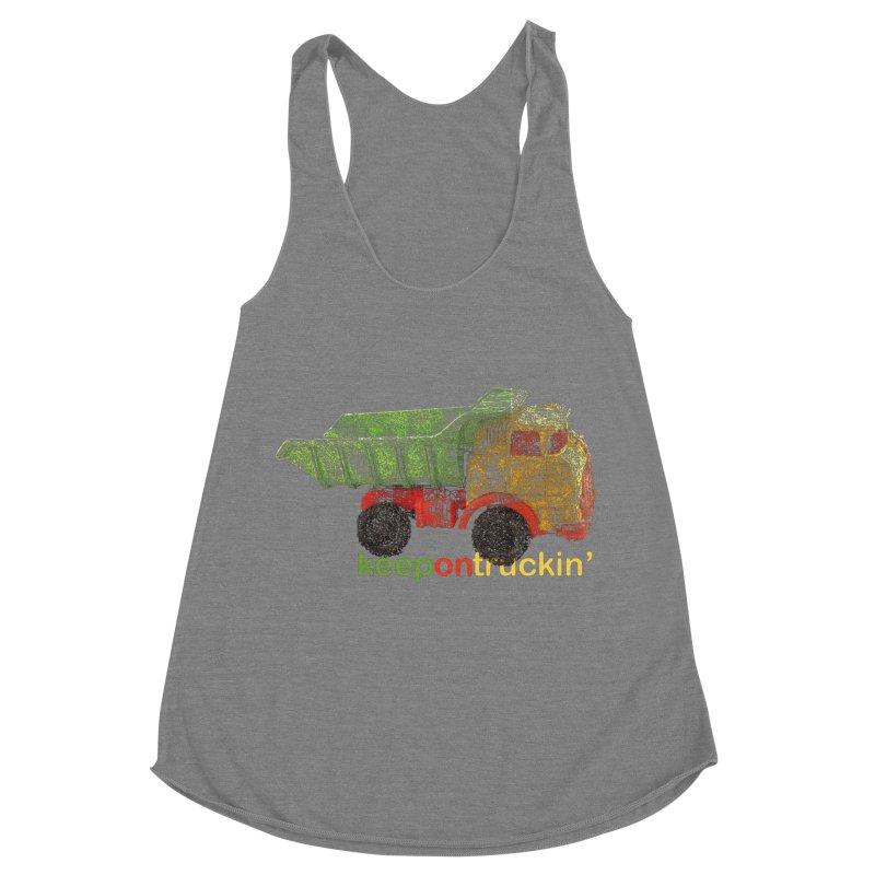 Keep On Trucking Women's Tank by Armando's Artist Shop