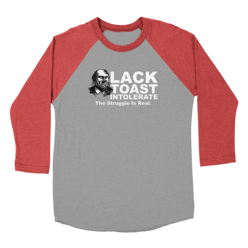 Lack Toast Intolerate Men's Longsleeve T-Shirt by Armando's Artist Shop
