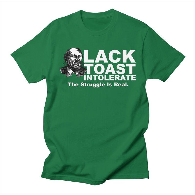 Lack Toast Intolerate Men's Regular T-Shirt by Armando's Artist Shop