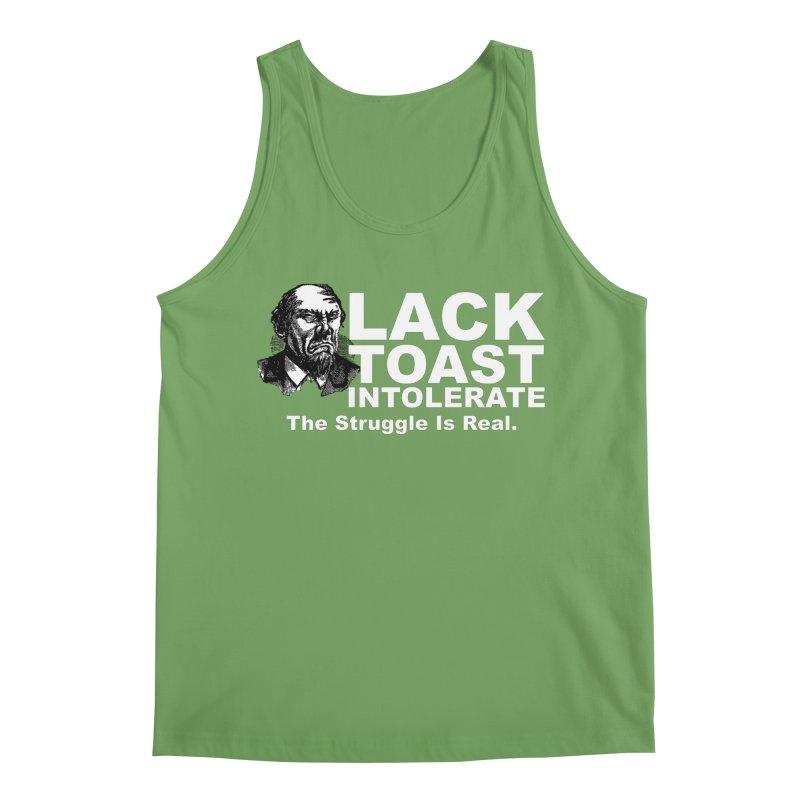 Lack Toast Intolerate Men's Tank by Armando's Artist Shop