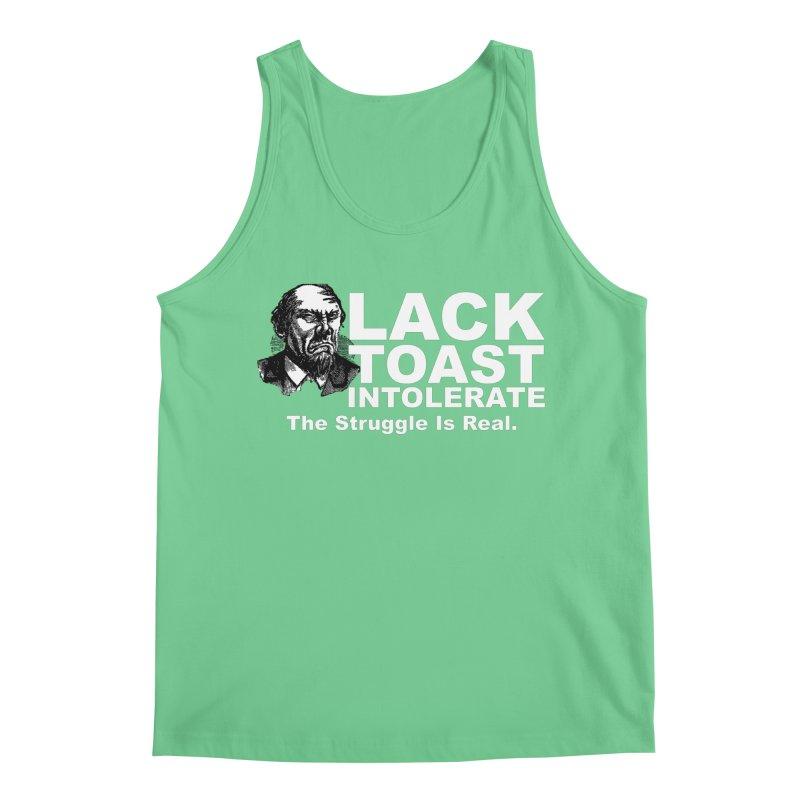 Lack Toast Intolerate Men's Regular Tank by Armando's Artist Shop