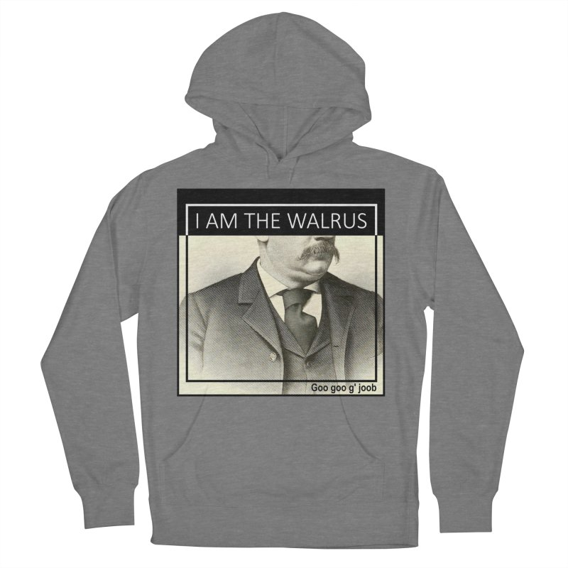 I Am The Walrus Women's Pullover Hoody by Armando's Artist Shop