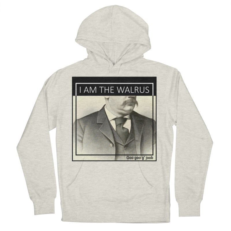 I Am The Walrus Men's French Terry Pullover Hoody by Armando's Artist Shop