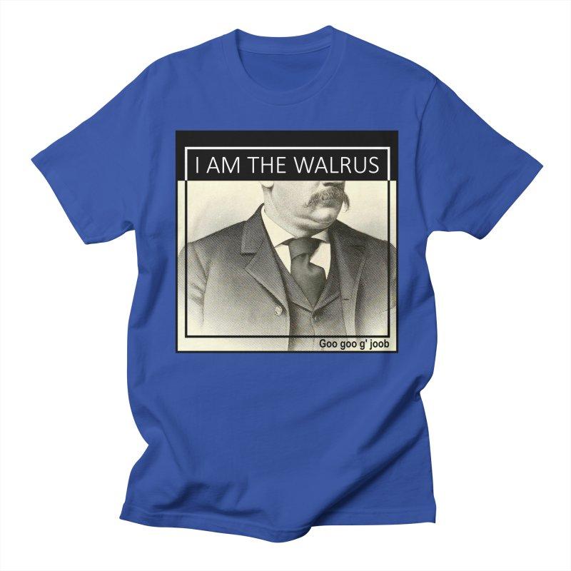 I Am The Walrus Men's Regular T-Shirt by Armando's Artist Shop