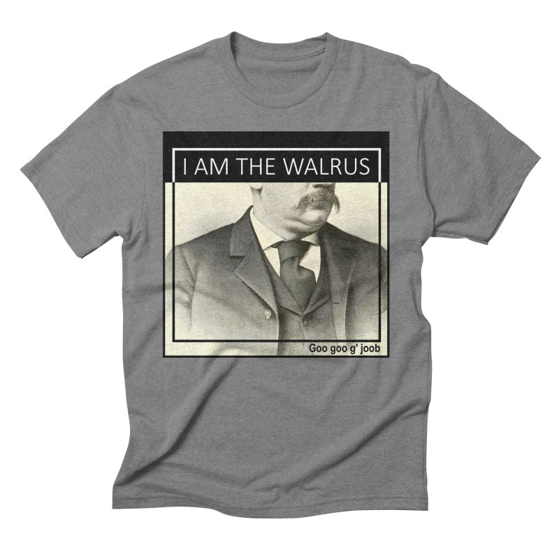 I Am The Walrus Men's T-Shirt by Armando's Artist Shop