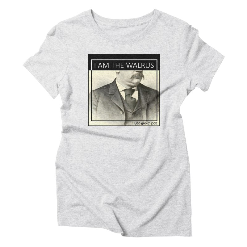 I Am The Walrus Women's T-Shirt by Armando's Artist Shop