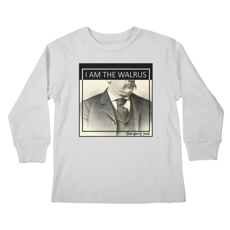 I Am The Walrus Kids Longsleeve T-Shirt by Armando's Artist Shop