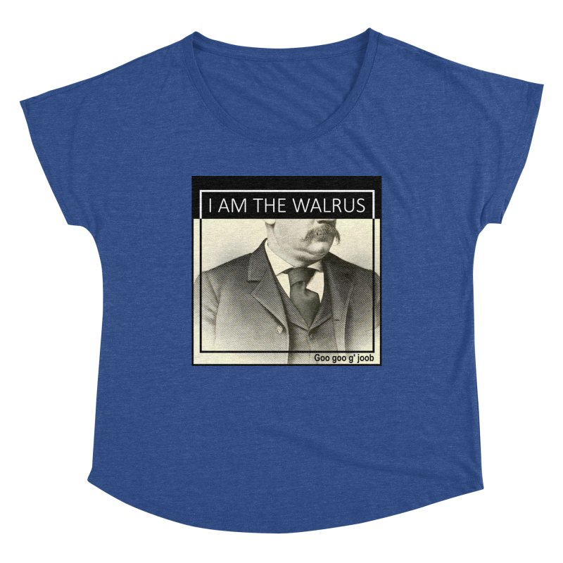 I Am The Walrus Women's Scoop Neck by Armando's Artist Shop