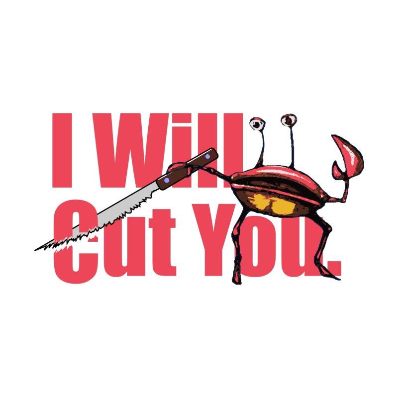 I Will Cut You Women's Zip-Up Hoody by Armando's Artist Shop