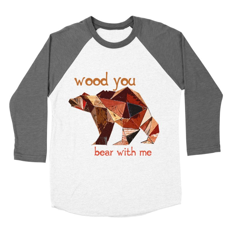 Wood You Bear With Me Women's Longsleeve T-Shirt by Armando's Artist Shop