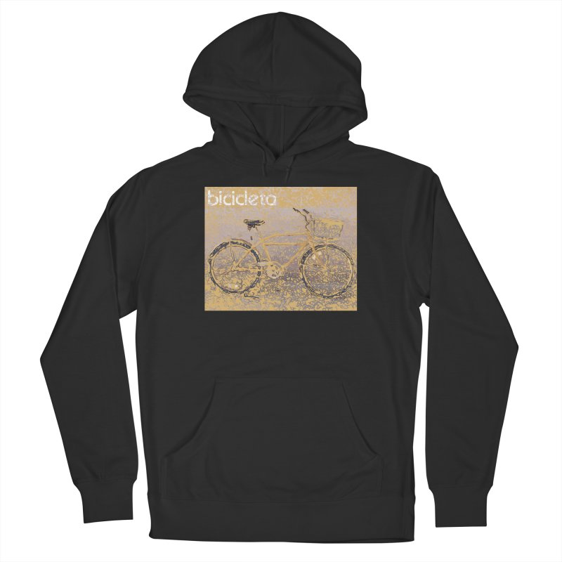 Bicicleta (Bicycle) Men's French Terry Pullover Hoody by Armando's Artist Shop
