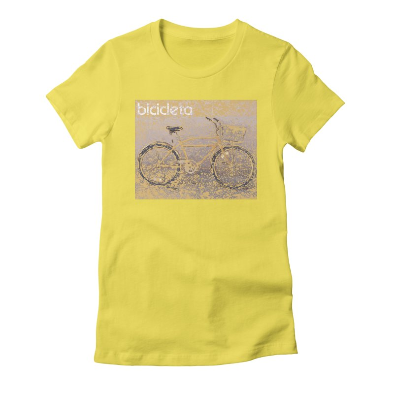 Bicicleta (Bicycle) Women's T-Shirt by Armando's Artist Shop