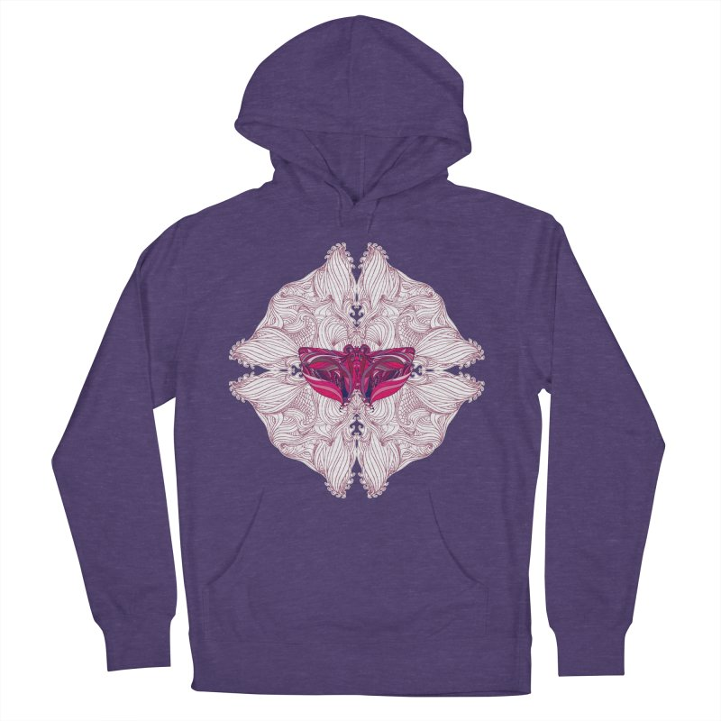 Mariposa (Butterfly) Women's French Terry Pullover Hoody by Armando's Artist Shop