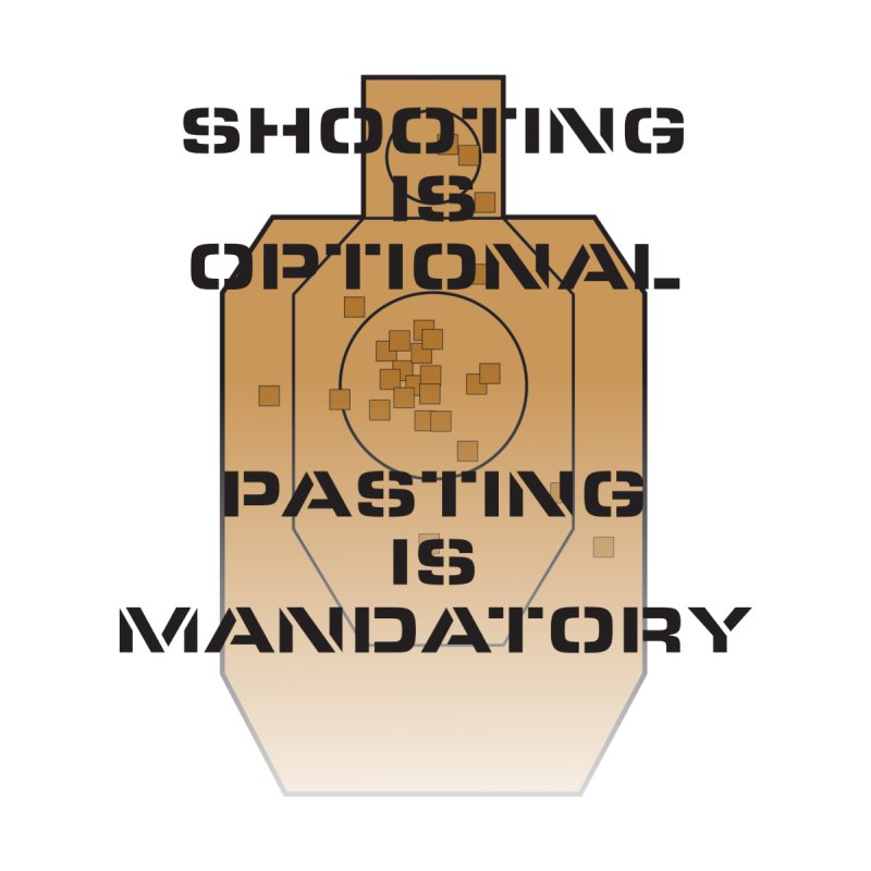 Pasting is Mandatory by Armed Lutheran Radio Shop