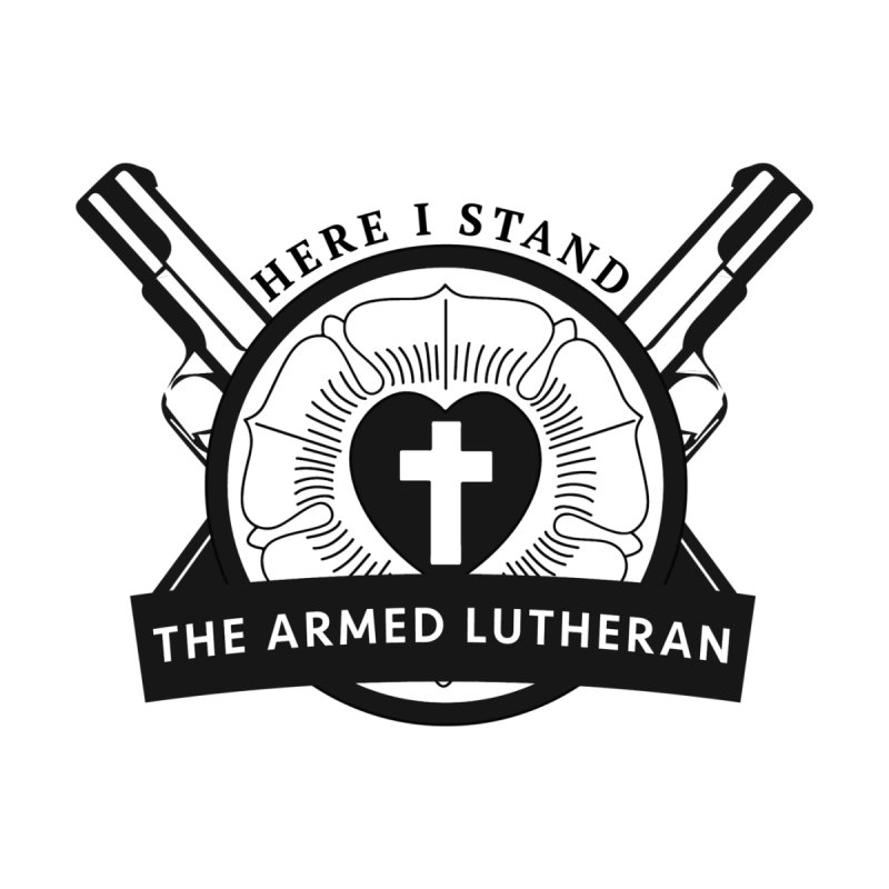 Armed Lutheran Crest Accessories Sticker by Armed Lutheran Radio Shop