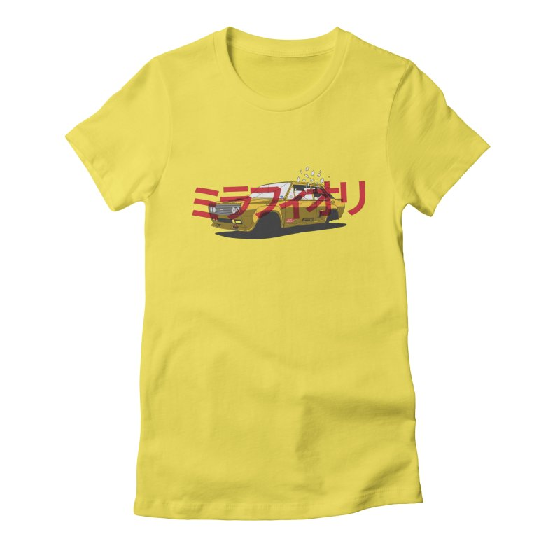 Mirafiori Women's Fitted T-Shirt by Armellino Design