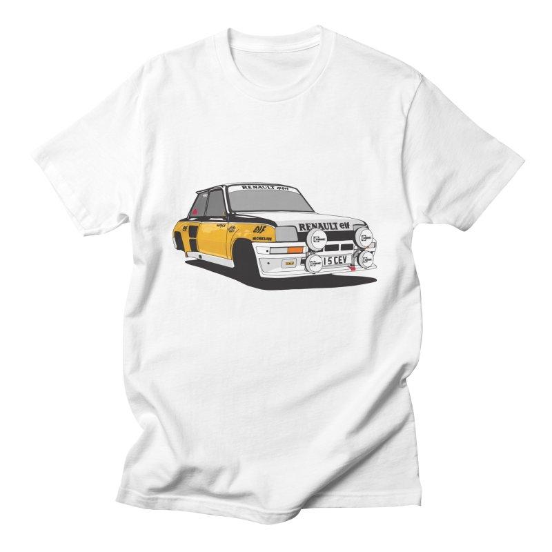 Renault 5 Turbo Men's T-Shirt by Armellino Design