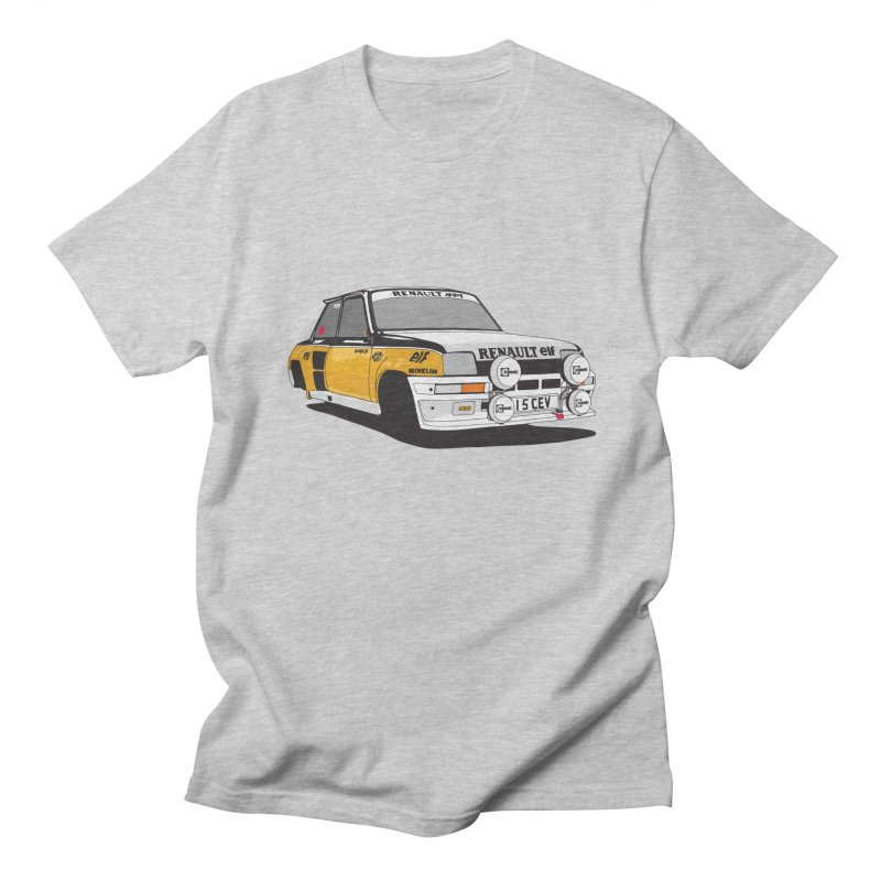 Renault 5 Turbo Men's T-Shirt by Armellino Design