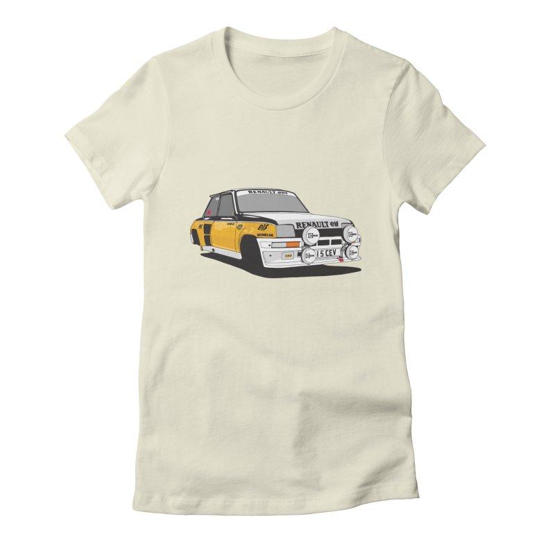 Renault 5 Turbo Women's T-Shirt by Armellino Design