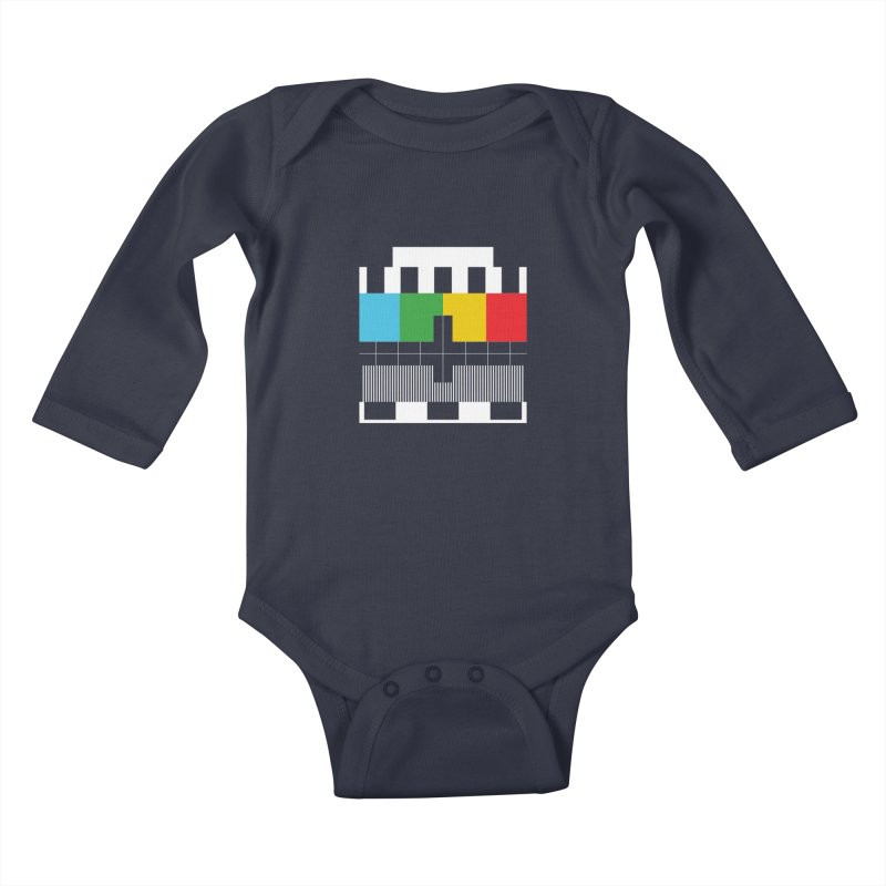 Off Air Kids Baby Longsleeve Bodysuit by Arrivesatten Artist Shop