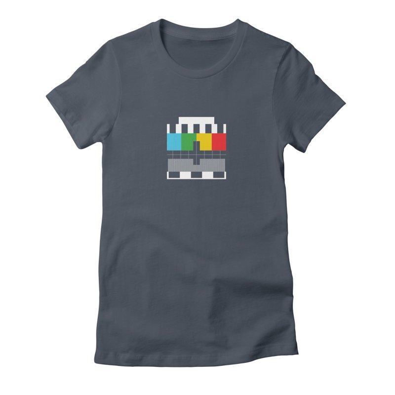 Off Air Women's Fitted T-Shirt by Arrivesatten Artist Shop