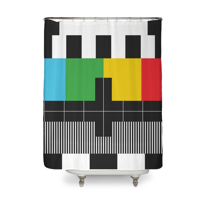 Off Air Home Shower Curtain by Arrivesatten Artist Shop