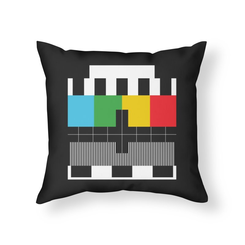 Off Air Home Throw Pillow by Arrivesatten Artist Shop