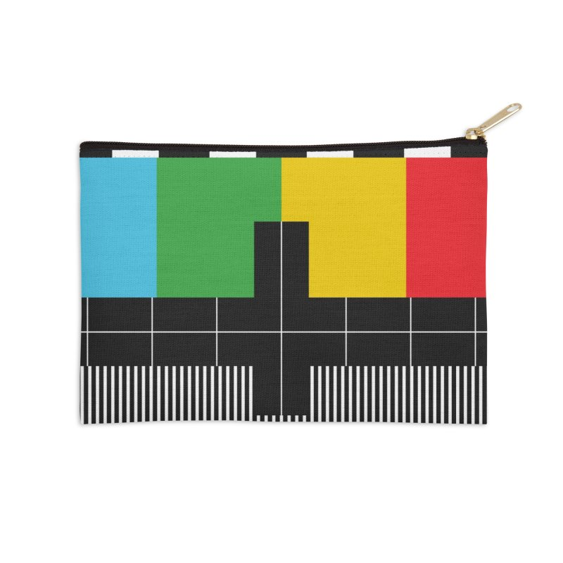 Off Air Accessories Zip Pouch by Arrivesatten Artist Shop