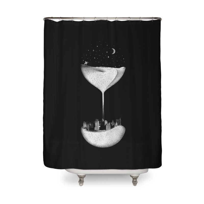Time Travels Home Shower Curtain by Arrivesatten Artist Shop