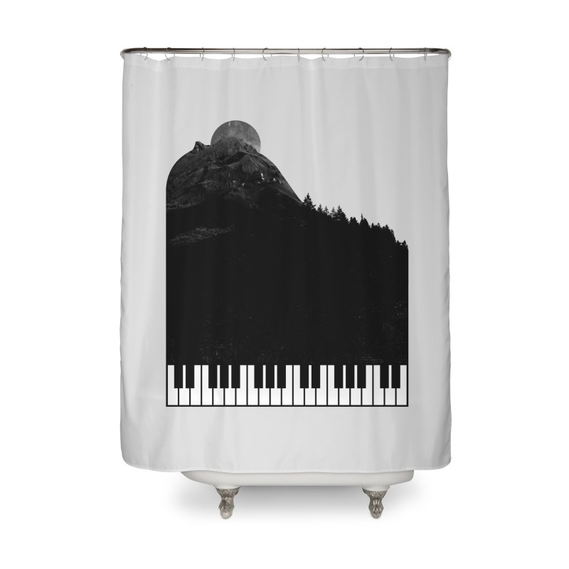 Sound Of Nature Home Shower Curtain by Arrivesatten Artist Shop
